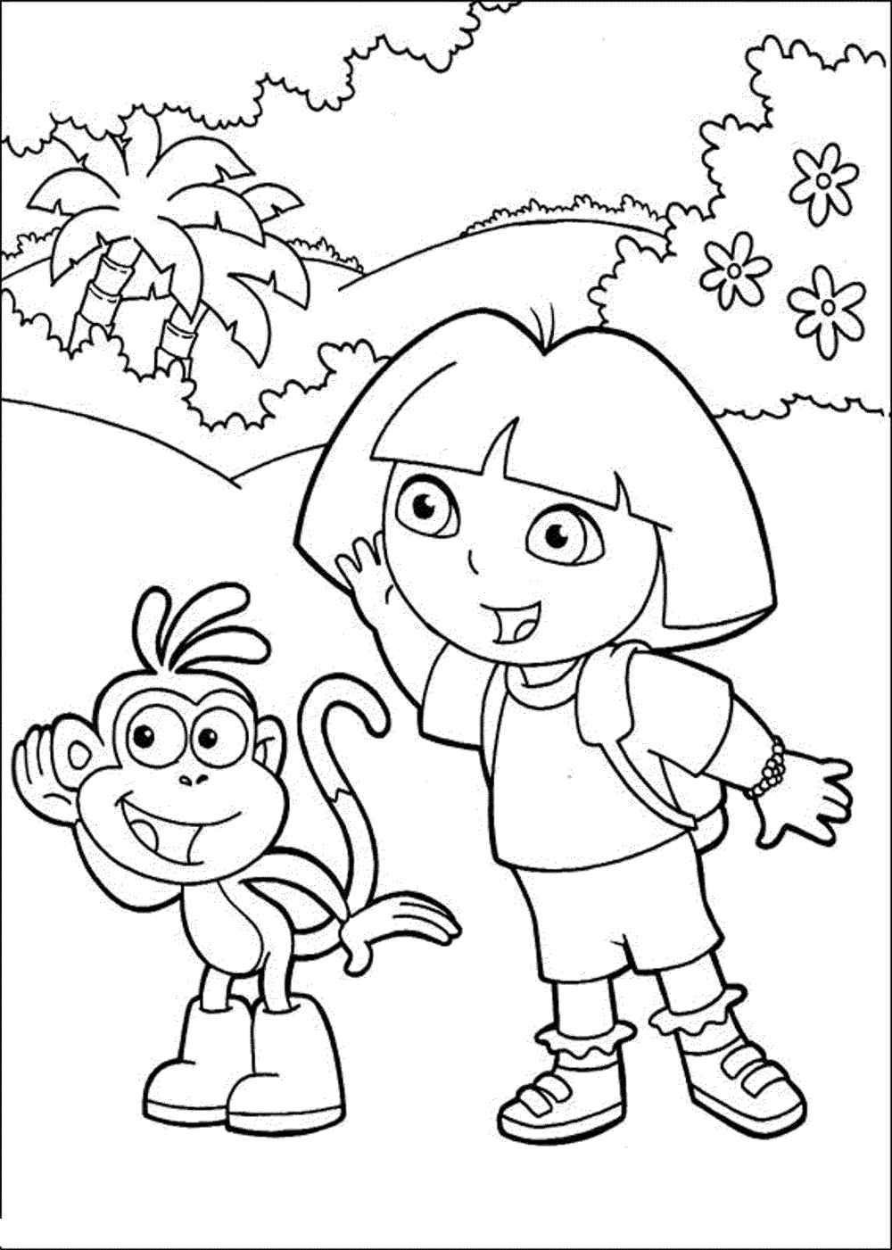 Serving Others Coloring Pages