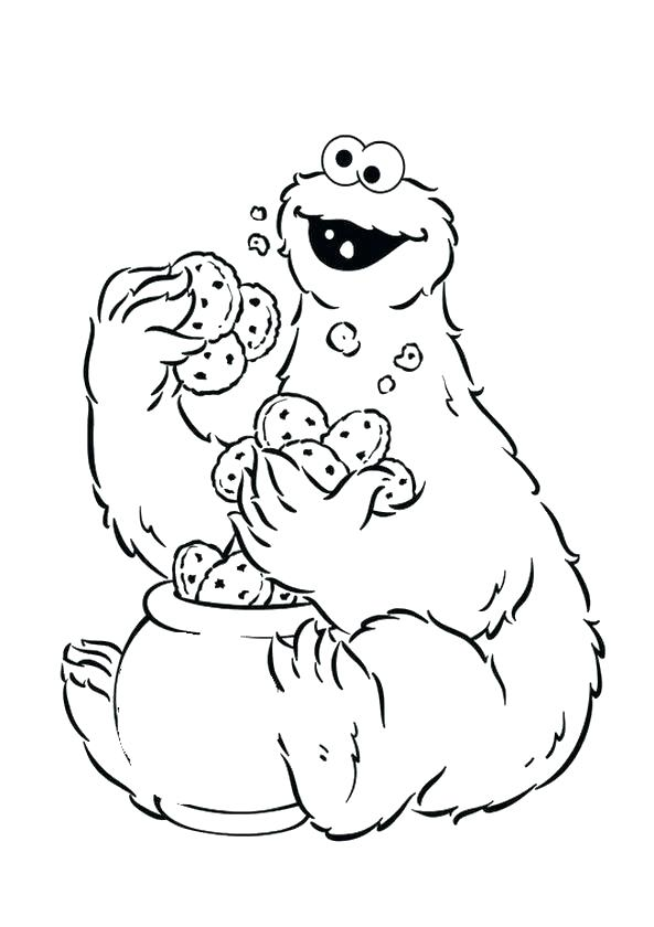 Sesame Street Alphabet Coloring Pages At Getdrawings Com Free For
