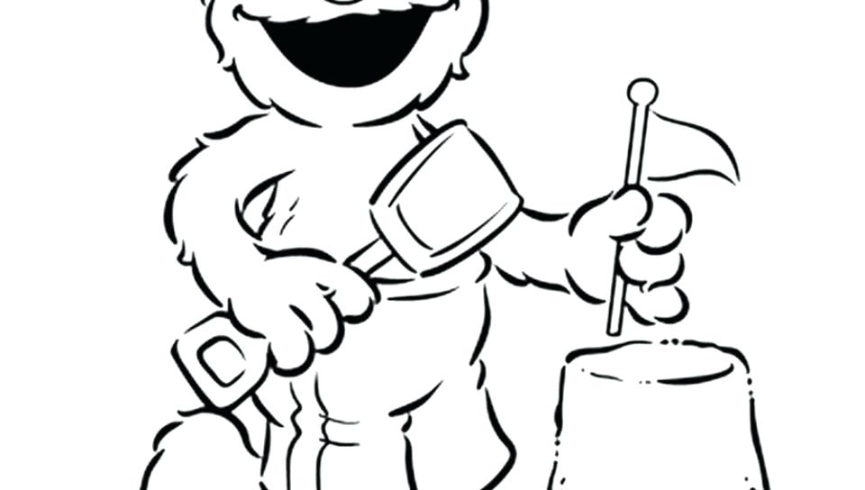 960x544 Marvellous Sesame Street Birthday Coloring Pages Charming Coloring