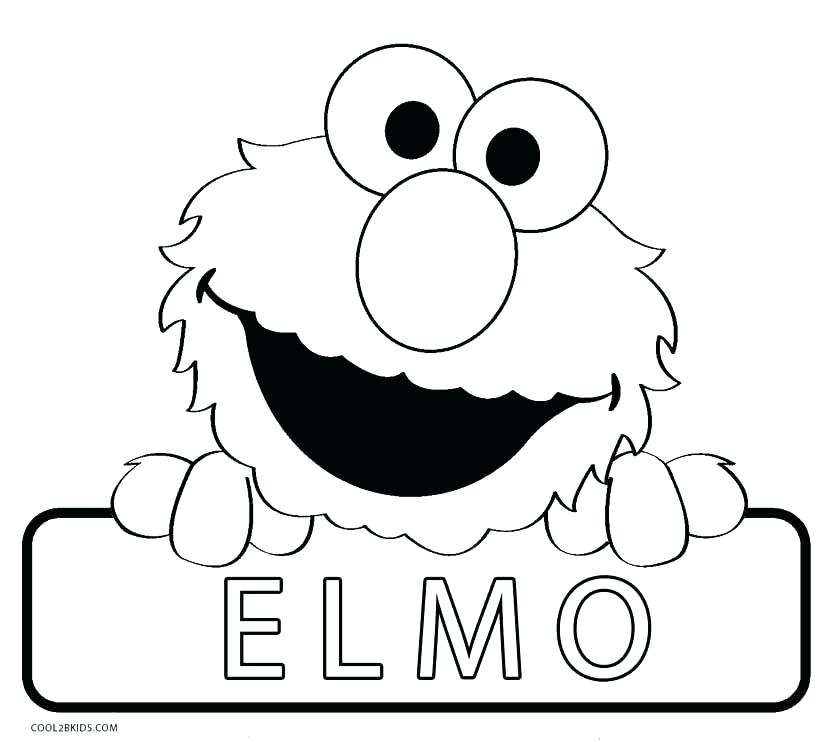 827x742 Sesame Street Birthday Coloring Pages Coloring Pages Free Sesame