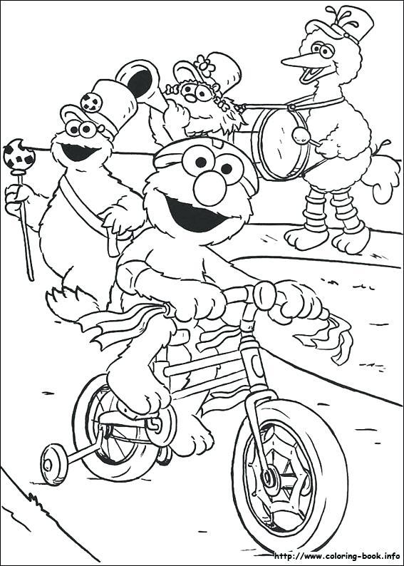 567x794 Sesame Street Sign Coloring Page Impressive Sesame Street Coloring
