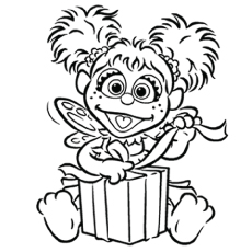 230x230 Top Free Printable Sesame Street Coloring Pages Online Sesame