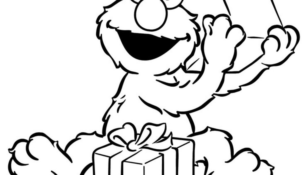 1060x608 Sesame Street Birthday Coloring Pages Timykids