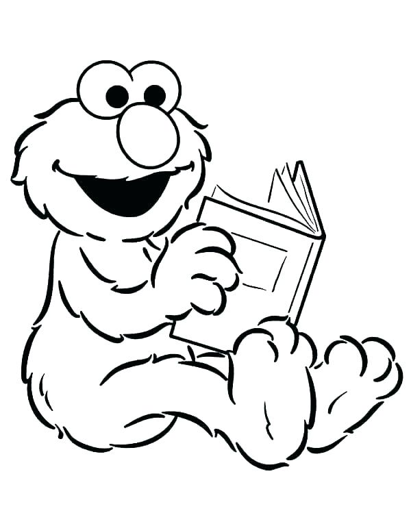 600x749 Sesame Coloring Pages Sesame Street Coloring Page Sesame Street