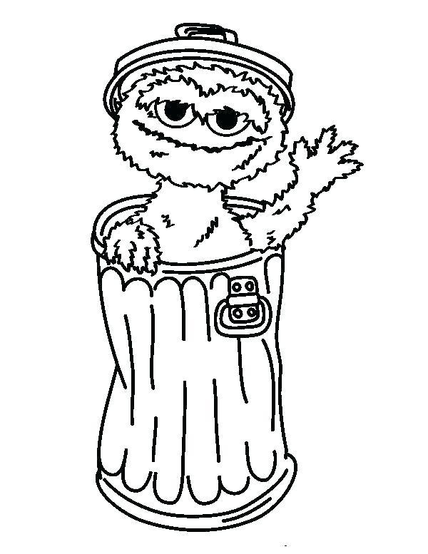 600x777 Sesame Street Coloring Pages Printable Sesame Street Printable