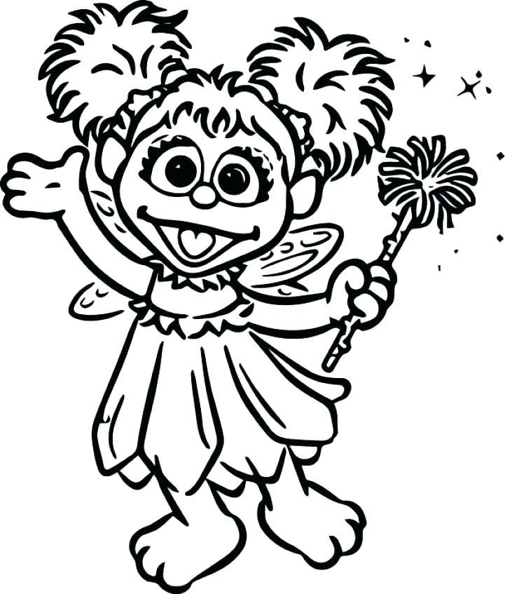 721x847 Free Sesame Street Sesame Street Coloring Pages Printable Free