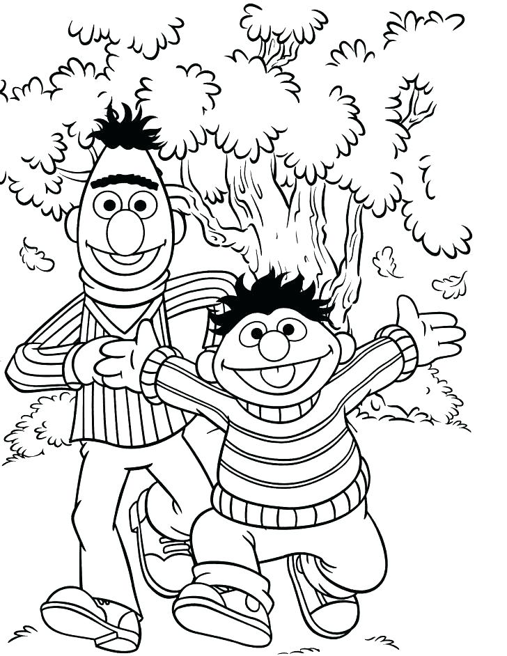 728x942 Printable Sesame Street Coloring Pages Coloring Page Printable