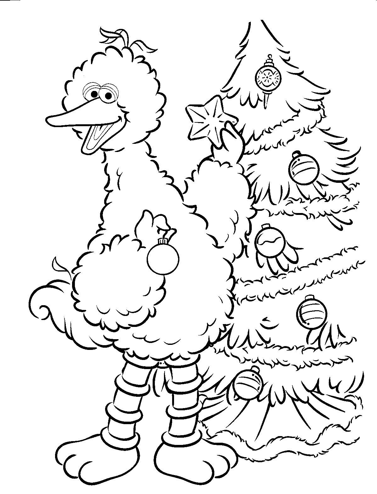 1198x1570 Sesame Street Coloring Pages For Kids Incredible Printable Acpra