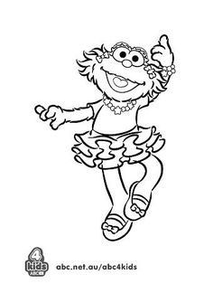 236x314 Here We Provide Some Black And White Sesame Street Coloring Pages