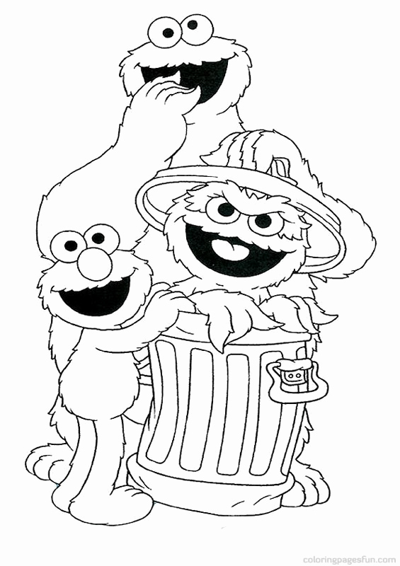 565x800 Sesame Street Coloring Pages Coloring Pages Funny Coloring Sesame