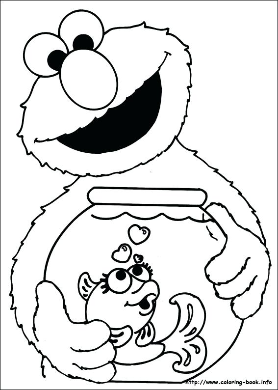 567x794 Sesame Street Printable Coloring Pages Index Coloring Pages Free