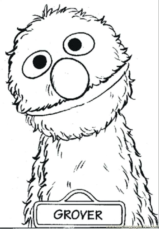 650x935 Sesame Street Printable Coloring Pages Sesame Street Coloring