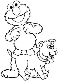 236x328 Tattly Sesame Street Characters Abby Cadabby Grande Coloring Page
