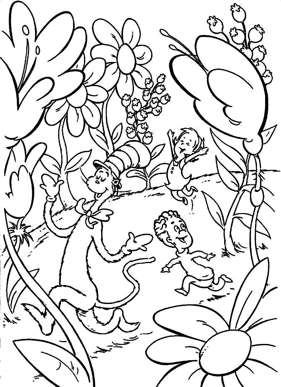 900x1240 Dr Seuss Coloring Pages Bestofcoloringcom Dr Seuss Colouring