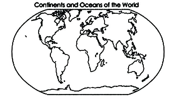 Seven Continents Coloring Page At Getdrawings Free Download