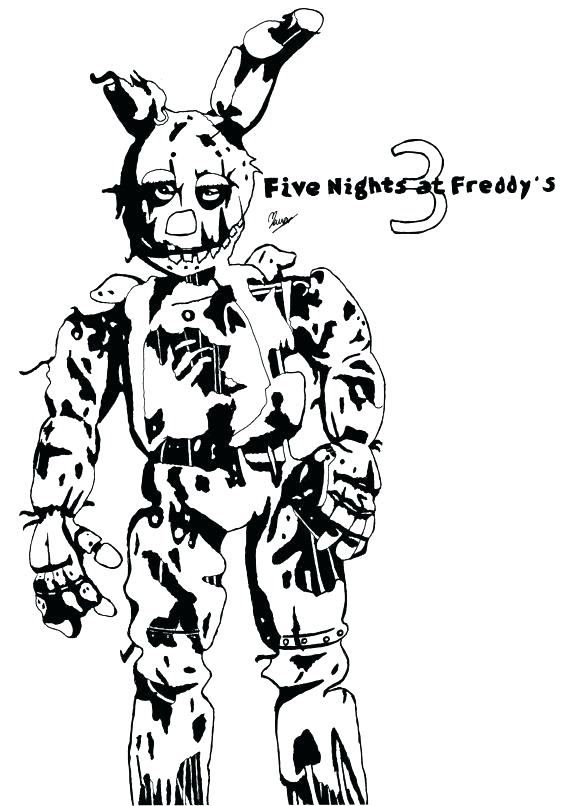 570x806 Coloring Pages For Five Nights At Freddys Five Nights At Coloring