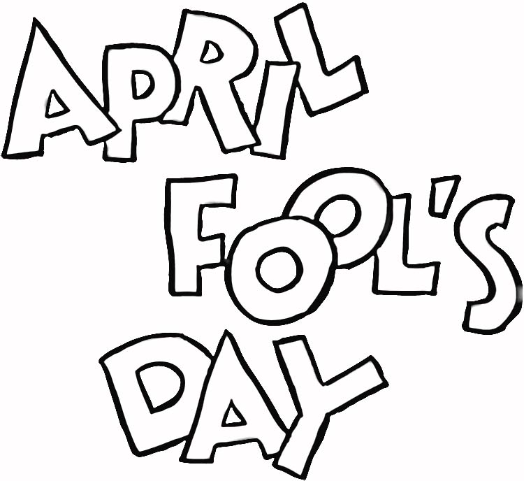 750x688 April Fool's Day Coloring Pages Carolyn's Compositions