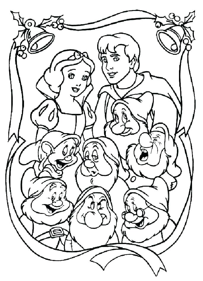 685x950 Coloring Pages Snow White And The Seven Dwarfs Coloring Pages Snow