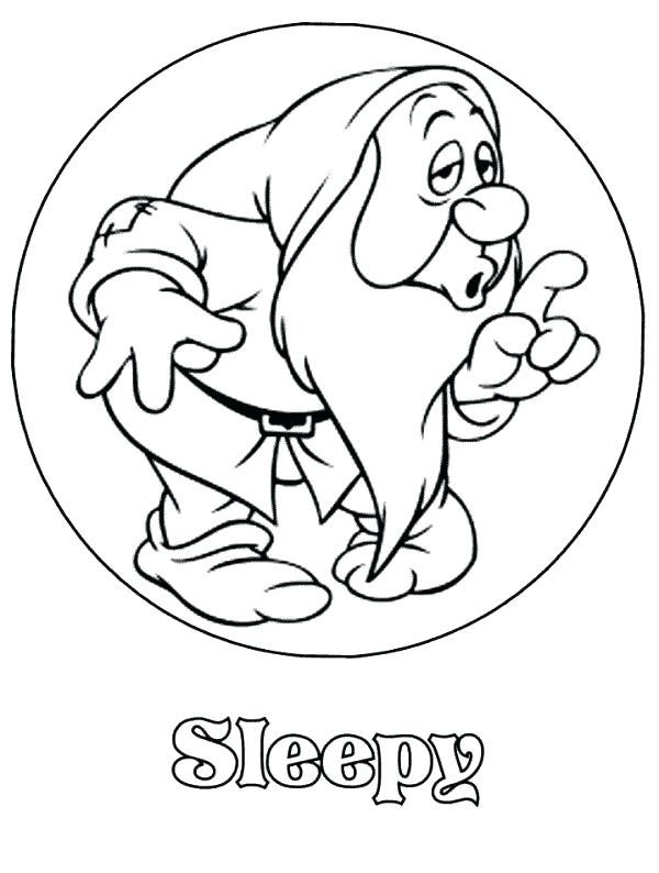 600x794 Snow White And The Seven Dwarfs Coloring Pages Coloring Pages