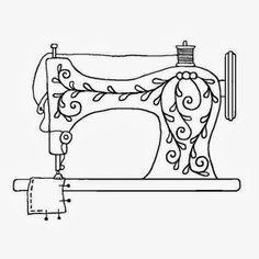 236x236 Resultado De Imagem Para Maquina Costura Vetor Coloring Pages