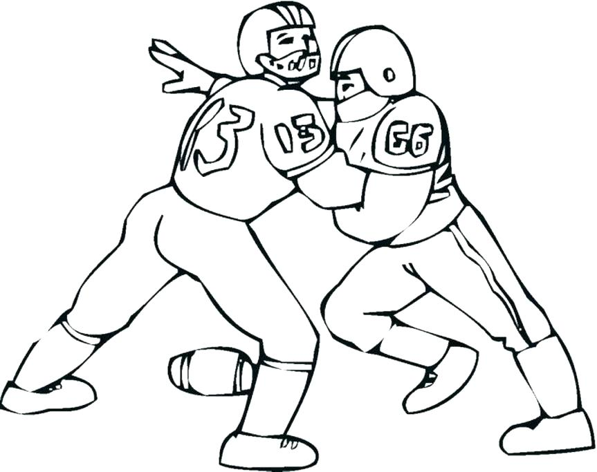 863x683 Special Football Coloring Pages To Print Coloring Pages Always