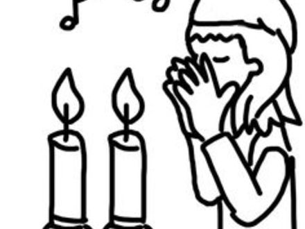 440x330 Modern Shabbat Coloring Pages Mold