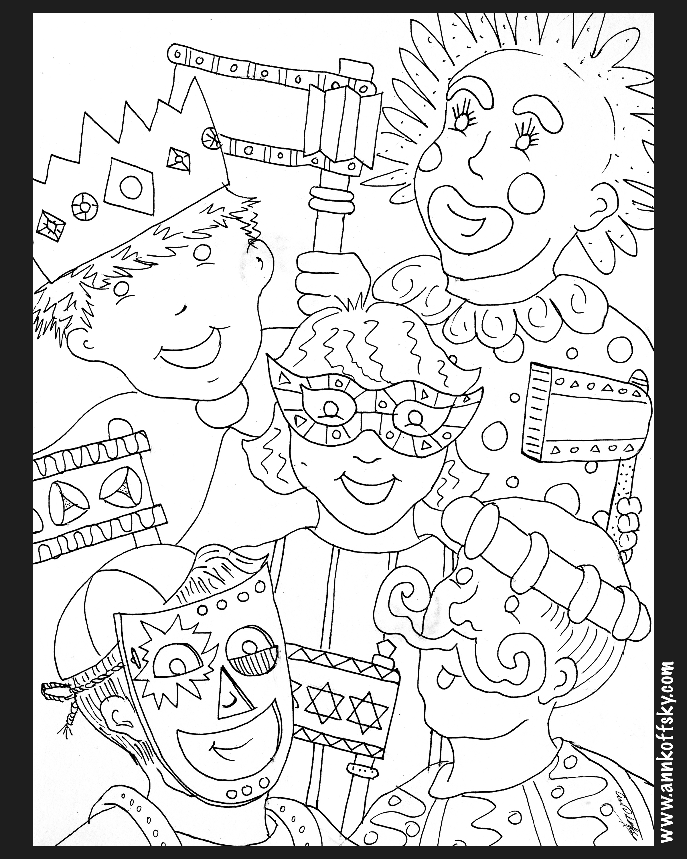 Shabbos Coloring Pages At Getdrawings Com Free For