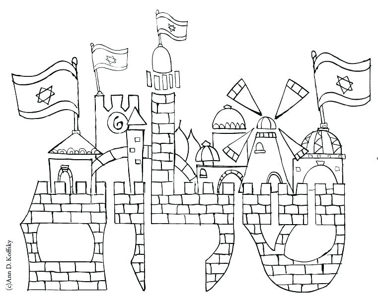 761x603 Shabbat Coloring Pages Coloring Pages And Blessings Coloring Pages