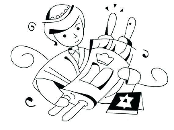 570x427 Shabbat Coloring Pages