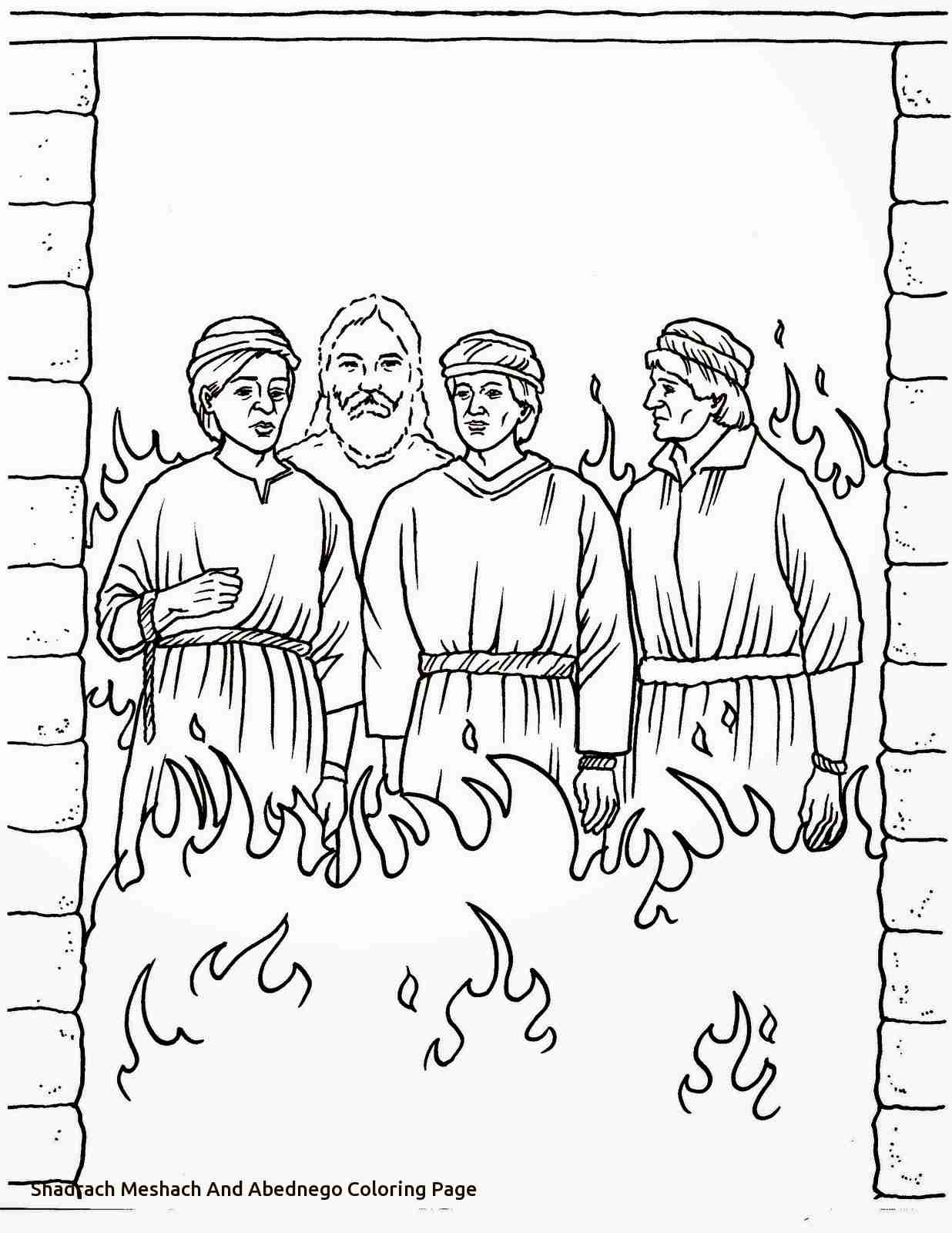 1236x1600 Shadrach Meshach And Abednego Coloring Page Az Pages Of At Olegratiy