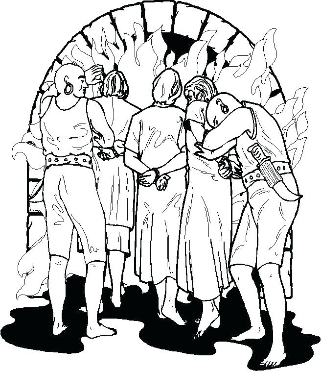 656x757 Shadrach Meshach And Abednego Coloring Pages Bible Coloring Pages