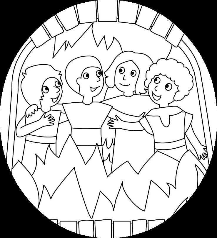 738x807 Shadrach Meshach And Abednego Coloring Page Lovely Shadrach