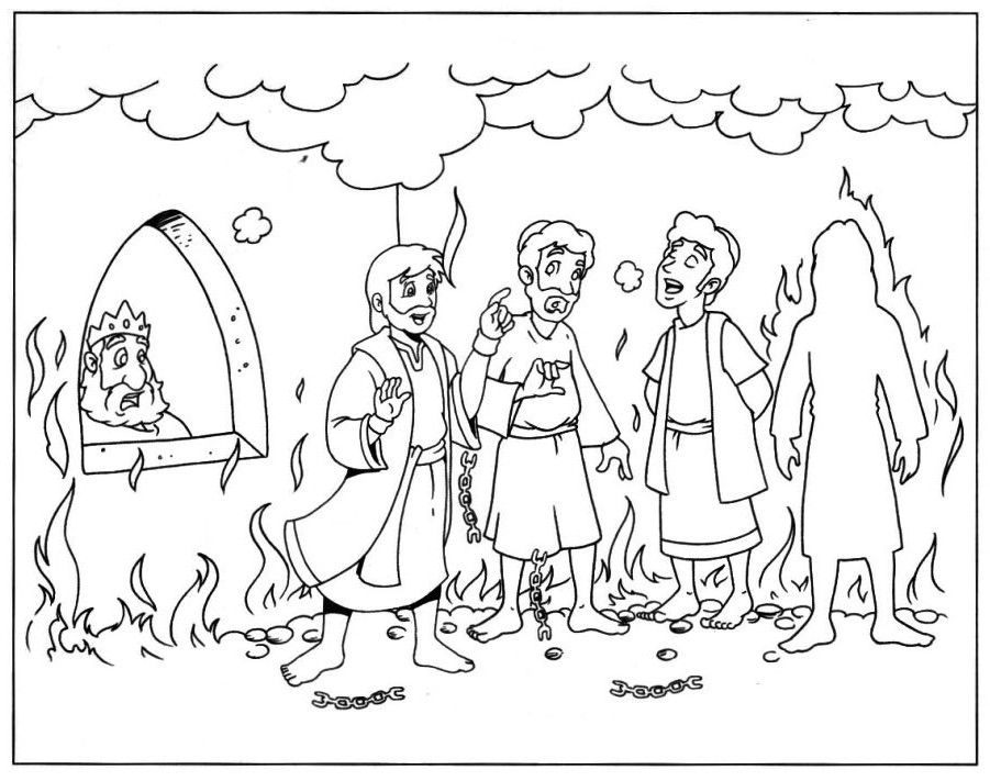 901x711 Shadrach Meshach And Abednego Coloring Pages Seeker