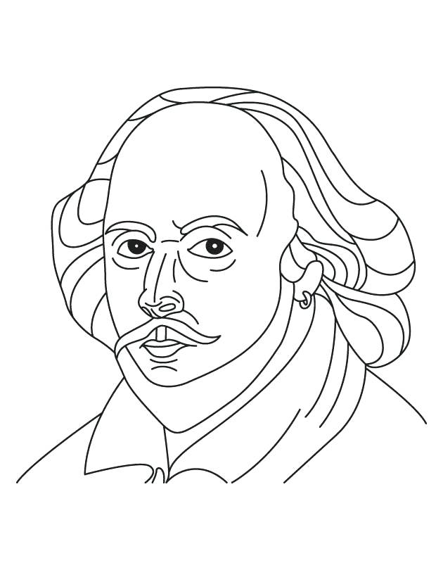 630x810 William Shakespeare Coloring Page Click Romeo And In The Garden