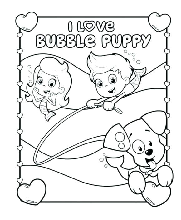 580x704 Bubble Guppies Coloring Pages Bubble Guppies Coloring Book