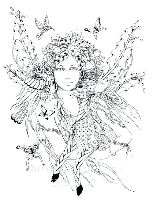 500x662 Fairies Coloring Pages Free Coloring Pages Fairy Shampoo Coloring