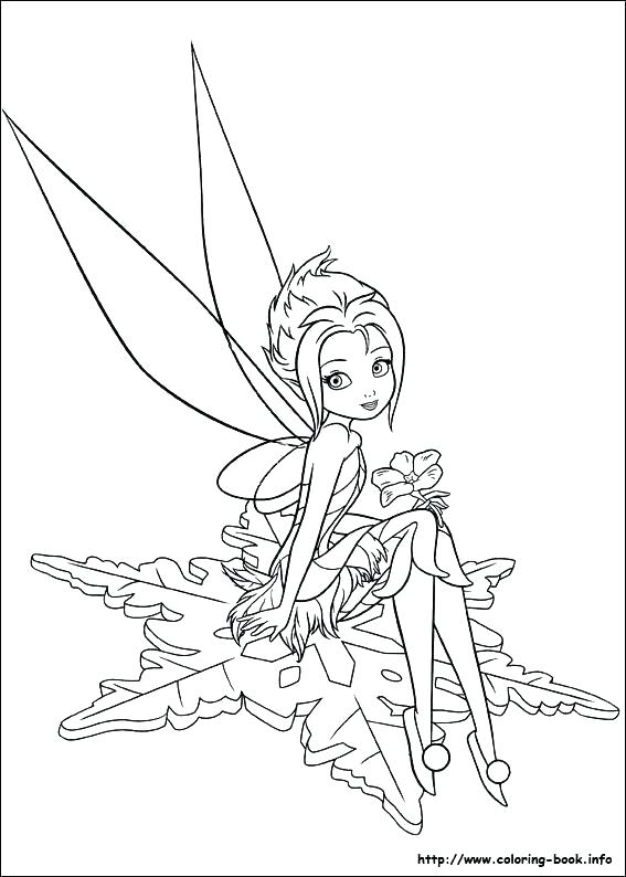 567x794 Fairies Coloring Pages Secret Of The Wings Periwinkle Fairy Free
