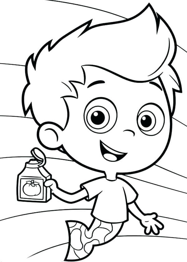 600x840 Inspiring Bubble Guppies Coloring Page Bubble Guppies Coloring