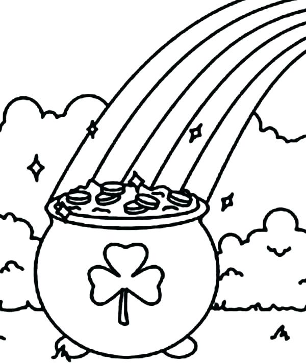 free coloring pages of shamrocks - photo#37
