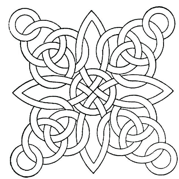 The Best Free Geometric Shapes Coloring Page Images Download From