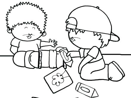 Sharing Coloring Page