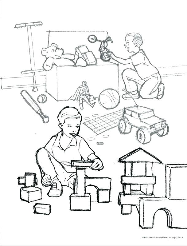609x800 Sharing Coloring Page S Sharing The Gospel Coloring Page