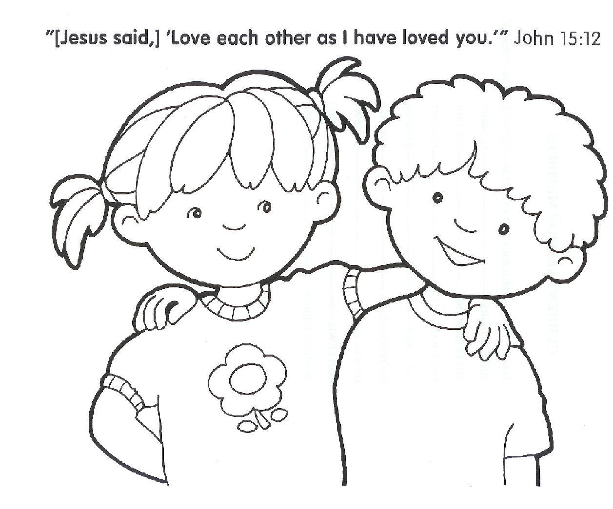 1257x1045 Sharing Coloring Page Pages Jesus Arilitv Sharing Coloring Sharing