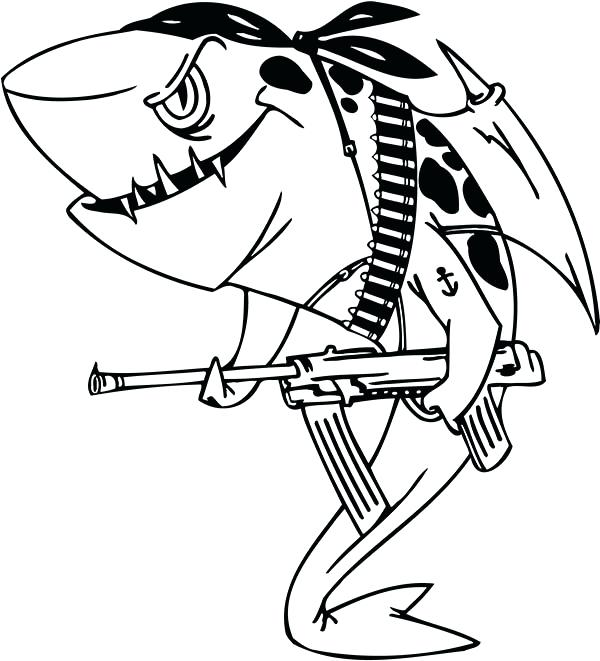 600x661 Shark Coloring Pages Coloring Pages Sharks An Illustration