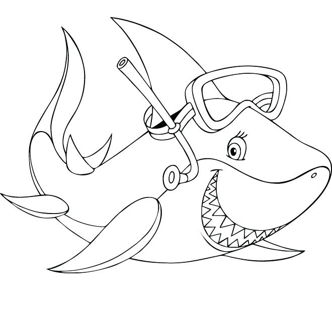 photo regarding Printable Shark Pictures named Shark Coloring Internet pages Printable at  Totally free for