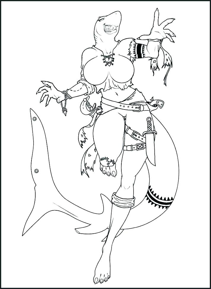 Shark Printables Coloring Pages At Getdrawings Com Free For