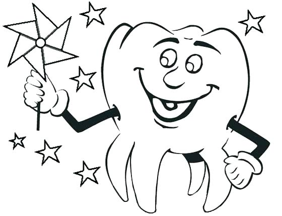 560x428 Shark Tooth Coloring Page Teeth Pages Free Printable Dental Print