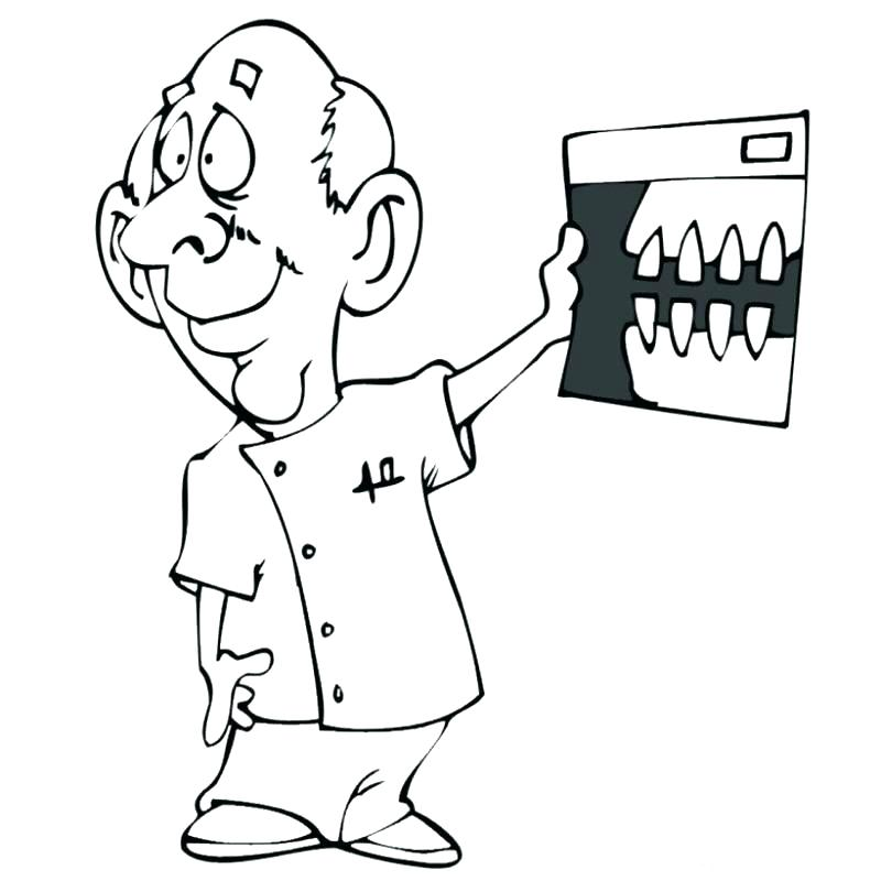 800x800 Teeth Coloring Page Trend Tooth Coloring Pages Free Download