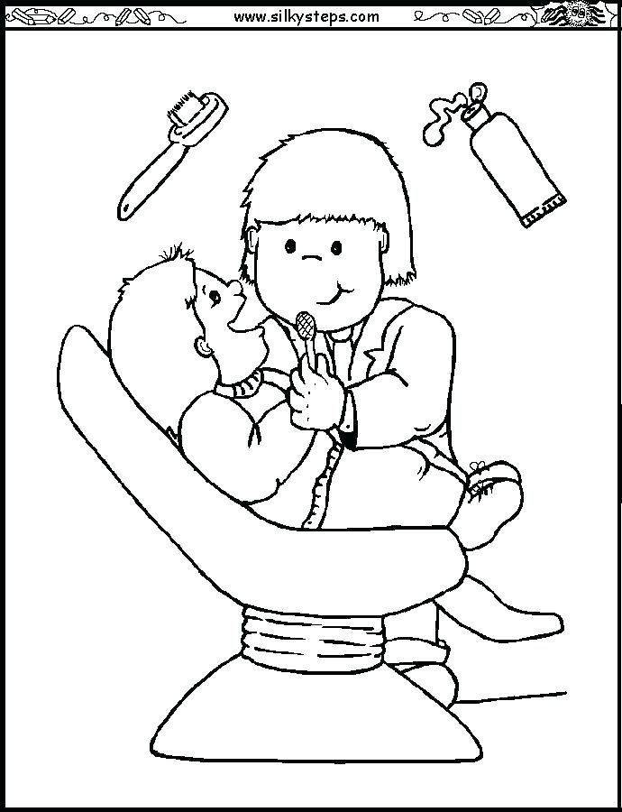 690x900 Teeth Coloring Pages Pediatric Dentist For Children Teeth Coloring