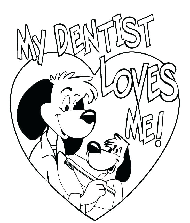 736x863 Teeth Coloring Pages Tooth Color Page Tooth Coloring Pages Dentist
